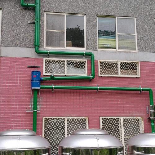 國小使用 - 4吋離⼼式雨水回收過濾器