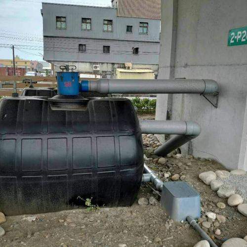 高速橋梁使用 - 6吋離⼼式雨水回收過濾器
