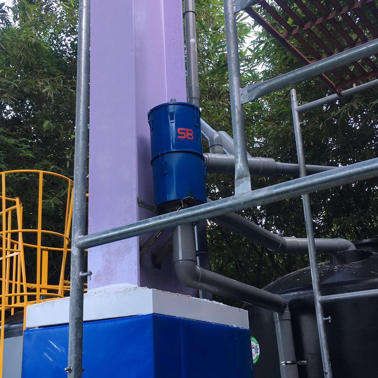 國小使用 - 6吋離⼼式雨水回收過濾器