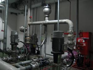 嘉義長庚-緩閉逆止閥6〞+水錘5加侖+洩壓3〞