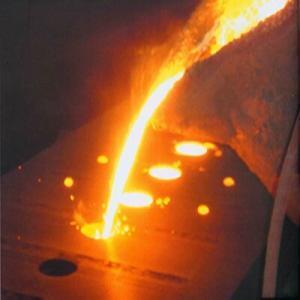 模具填充熔融金屬