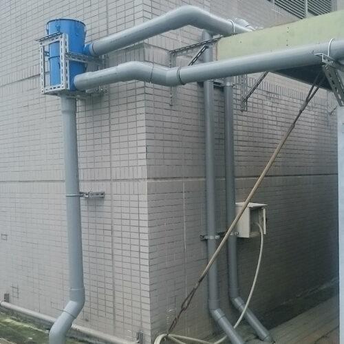 電信機房使用 - 6吋離⼼式雨水回收過濾器