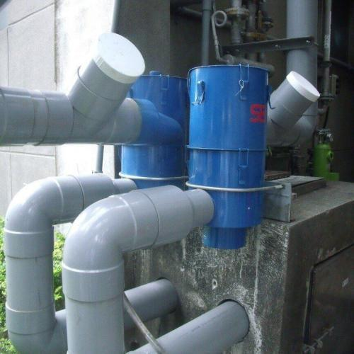 工廠使用 - 6吋離⼼式雨水回收過濾器