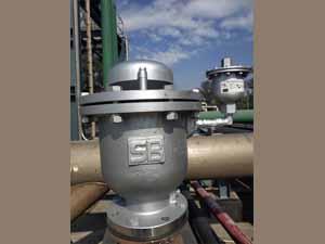 外銷越南-複合式排氣閥4吋
