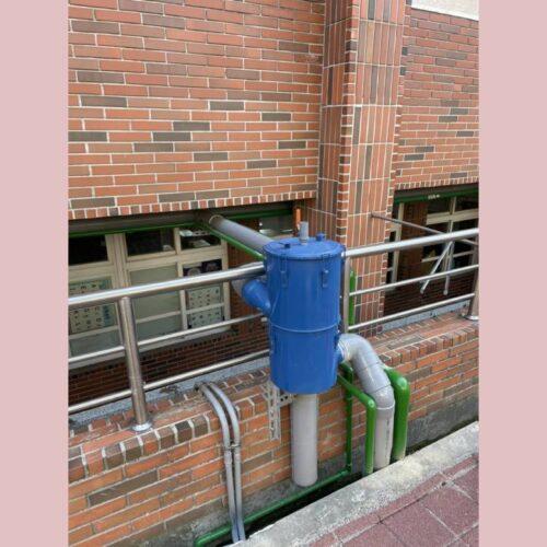 學校使用 - 6吋離⼼式雨水回收過濾器
